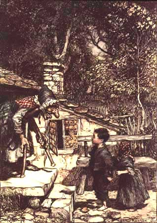 Hänsel und Gretel - Arthur Rackham