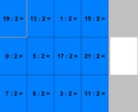 Division euclidienne sous la forme QRX - JClic