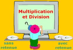 Activités autour de la multiplication et de la division - JClic