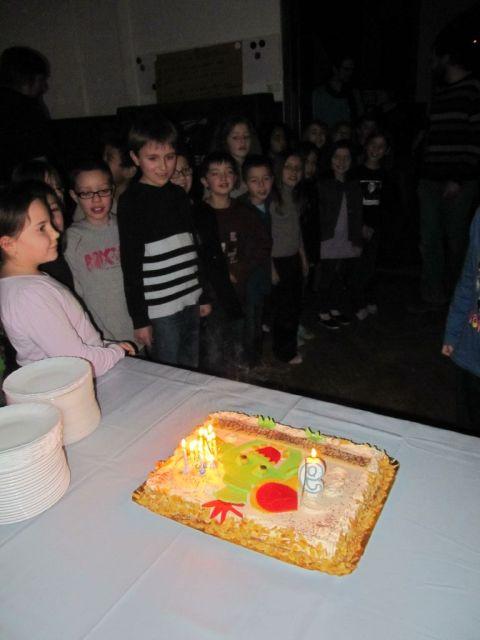 LE gâteau !