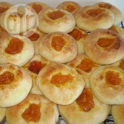recette kolache  aux abricots