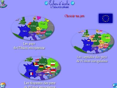 Union européenne pays caoitales